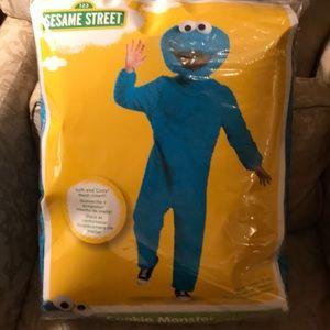 Sesame Street Plush Cookie Monster Costume